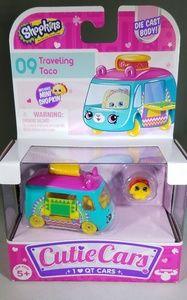 Shopkins Cutie Cars TRAVELING TACO #9 NIB!